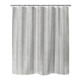 GREY WILLOW Shower Curtain By Becky Bailey