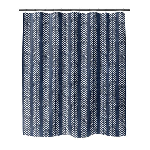 INDIGO WILLOW Shower Curtain By Becky Bailey