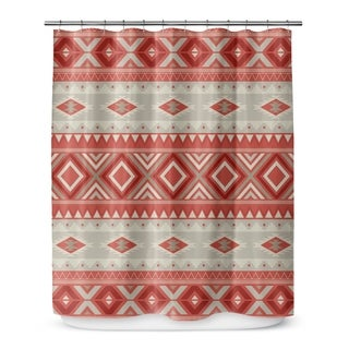 SEDONA RED Shower Curtain By Marina Gutierrez