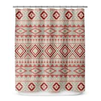 Kavka Designs Tribal Tan Shower Curtain