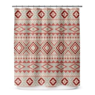 SEDONA TAN Shower Curtain By Marina Gutierrez