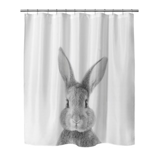 BUNNY Shower Curtain By Vivid Atelier
