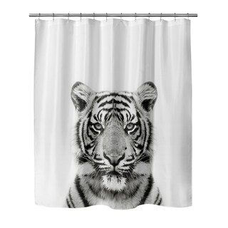 TIGER Shower Curtain By Vivid Atelier