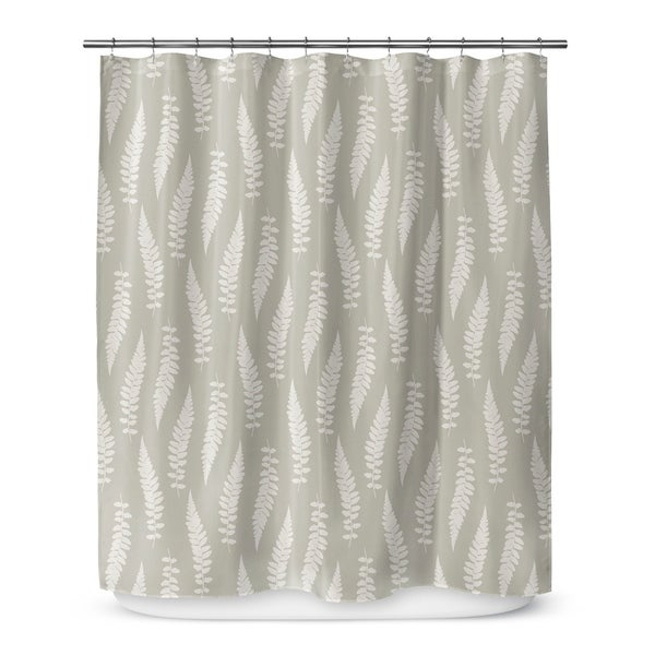 FEATHERS Shower Curtain By Marina Gutierrez