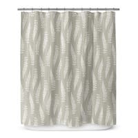 FEATHERS Shower Curtain By Marina Gutierrez