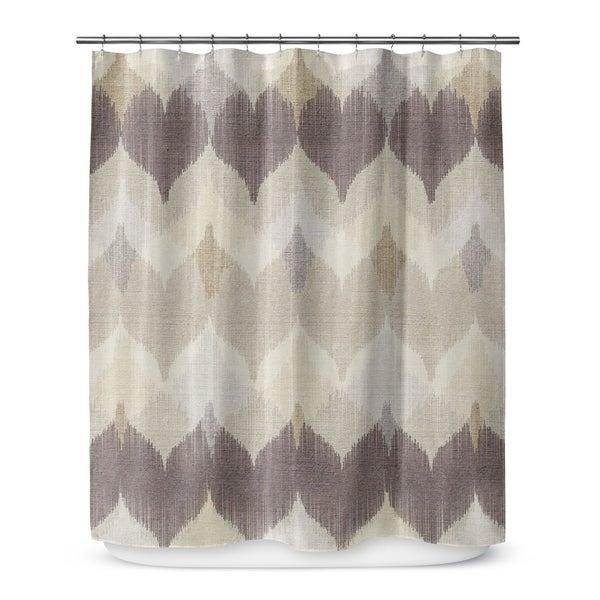 CHEVRON MOTION Shower Curtain By Marina Gutierrez
