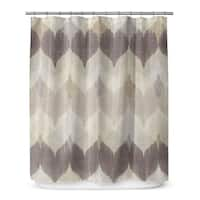 Kavka Designs Chevron Motion Shower Curtain