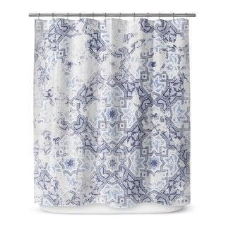 Kavka Designs Sandoval Blue Shower Curtain