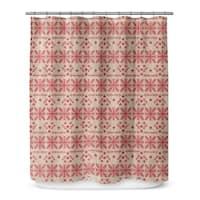 CHRISTMAS IN RED Shower Curtain By Terri Ellis