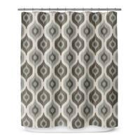 Kavka Designs Harmony Grey Shower Curtain