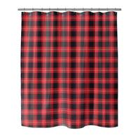 Kavka Designs Christmas In Plaid IV Shower Curtain
