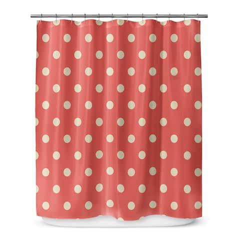 DOTS Shower Curtain By Terri Ellis