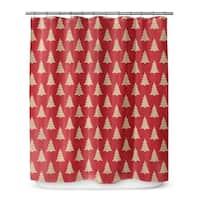 CHRISTMAS TREE Shower Curtain By Terri Ellis
