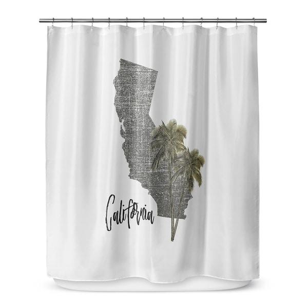 Shop CALIFORNIA Shower Curtain By Terri Ellis