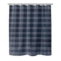 Kavka Designs Dune  Blue Shower Curtain