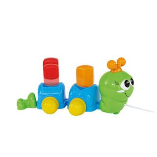 Simba ABC Pull-along Green Caterpillar