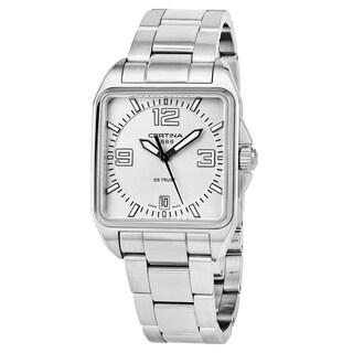 Certina Men's C019.510.11.037.00 'DS Trust' Silver Dial Stainless Steel Swiss Quartz Watch