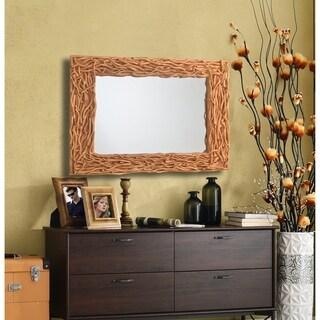 """Design Craft Nest 37"""" Tree Branch Wall Mirror"""
