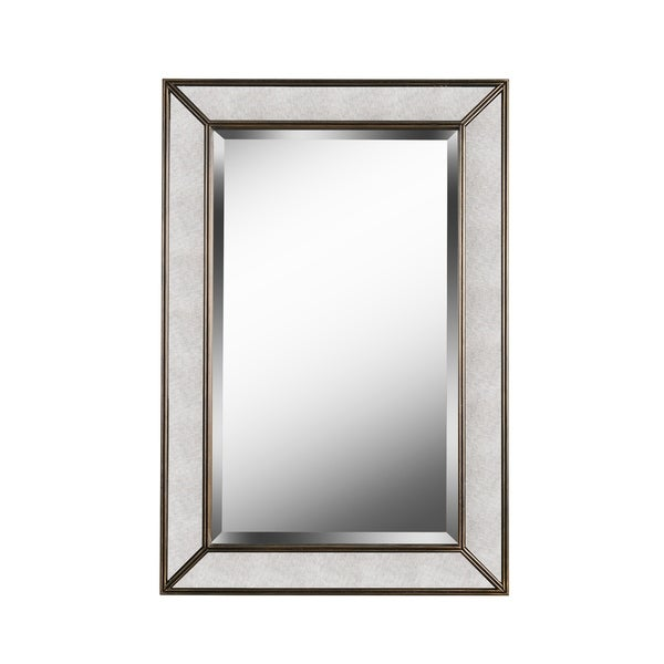 Shop Design Craft Synthia 36 Antiqued Wall Mirror Free Shipping