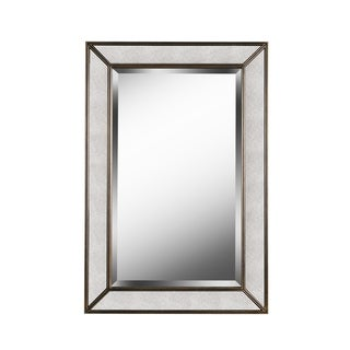 "Design Craft Synthia 36"" Antiqued Wall Mirror"