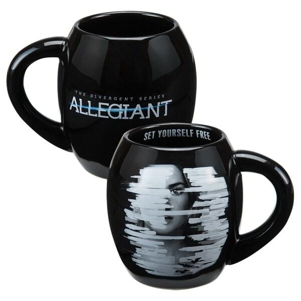 Allegiant 18 oz. Oval Ceramic Mug