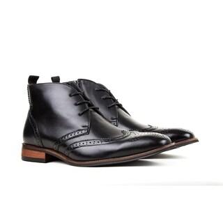 UV Signature Men's Wing Tip Brogue Boots