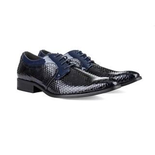 UV Signature Men's Hexagonal Diamond Cut Dress Shoes (More options available)