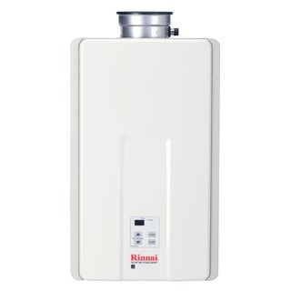 Rinnai Tankless Water Heater (Residential, Interior, max. Btu, 199,000, 9.8gpm) V94iN White