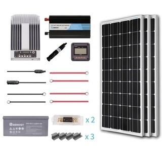 Renogy 300W 12V Mono Premium Solar Complete Kit With AGM Battery