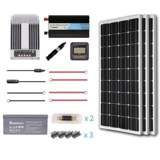 Renogy 300W 12V Mono Premium Solar Complete Kit With AGM Battery|https://ak1.ostkcdn.com/images/products/18062830/P24225667.jpg?impolicy=medium