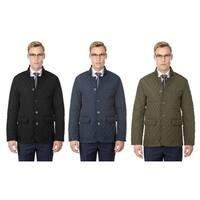 Braveman Men's Quilted Blazer Jacket