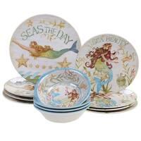 Certified International Sea Beauty 12 pc Dinnerware Set