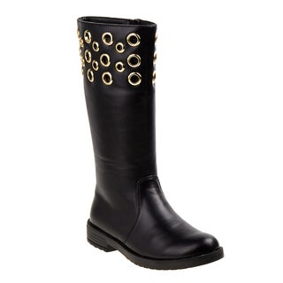Kensie Girl tall boot w/eyelets