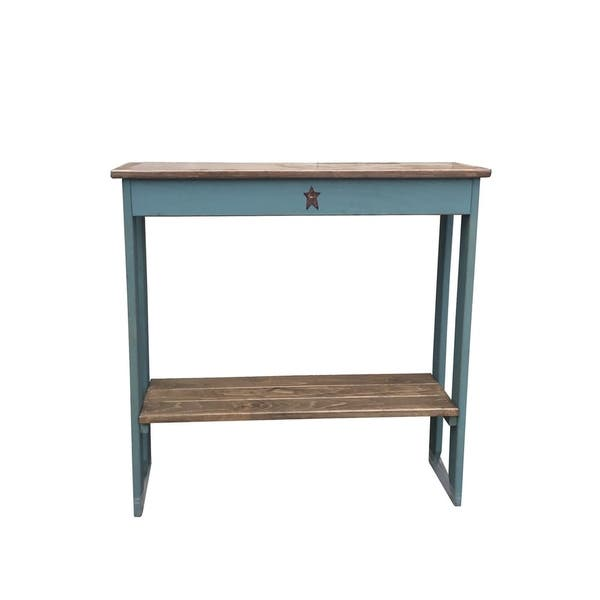 Groovy Primitive Rustic Country Style Sofa Table Machost Co Dining Chair Design Ideas Machostcouk