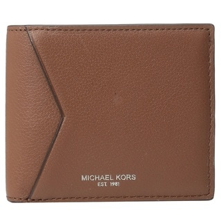 Michael Kors Bryant Cavallo Women's Brown Leather Bifold Wallet