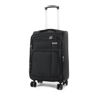 AGT Hamilton 20-inch Expandable Carry-On Spinner 16-inch Laptop Tablet Suitcase
