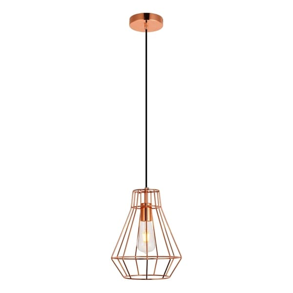 Jago Collection Pendant D9.1 H12.3 Lt:1 Copper Finish