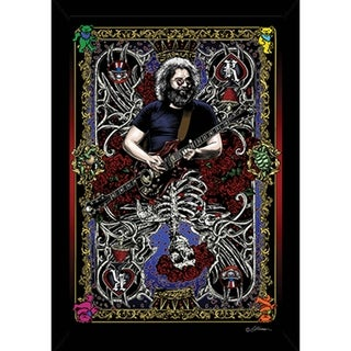 Jerry Card Poster With Choice of Frame (24x36)