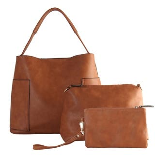 Diophy Large Hobo with Matching Bags 3 Pieces Set|https://ak1.ostkcdn.com/images/products/18063236/P24225965.jpg?impolicy=medium