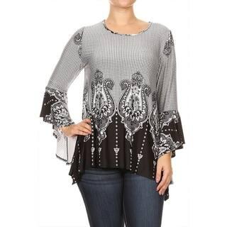 Women's Plus Size Cheetah Pattern Tunic https://ak1.ostkcdn.com/images/products/18063302/P24226057.jpg?impolicy=medium