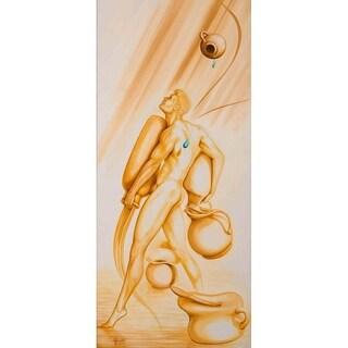 """Aquarius in love"" by Justin Ghita, Canvas Giclee Wall Art"