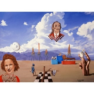 """""""Ode to dali"""" by Michael Bridges, Canvas Giclee Wall Art"""