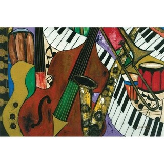 """Jazz Mix"" by Kelvin Henderson, Canvas Giclee Wall Art"