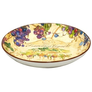 Certified International Vino 13 inch Serving Pasta Bowl