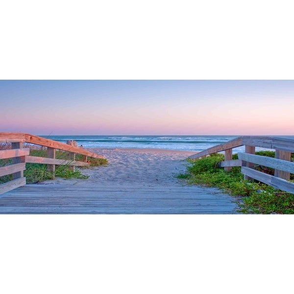 """Surf Canaveral Nat Seashore"" by James Richmond, Giclee Canvas Wall Art"