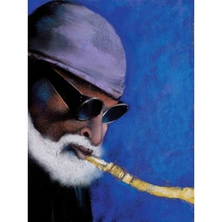 """My Ideal Sonny Rollins"" by Jerry Prettyman, Canvas Giclee Wall Art"