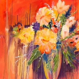"""Masquerade"" by Phyllis Shipley, Giclee Canvas Wall Art Print"