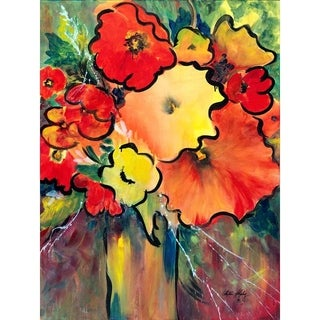 """""""Confidence"""" by Phyllis Shipley, Giclee Canvas Wall Art Print"""
