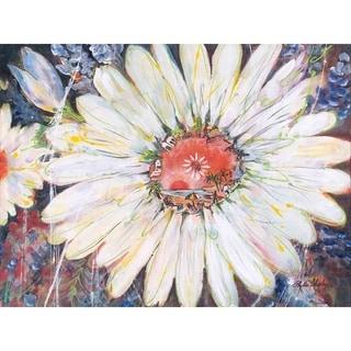 """Daisy Hope"" by Phyllis Shipley, Giclee Canvas Wall Art Print"