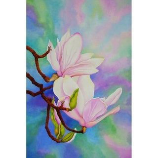 """Spring Magnolia"" by Carol Sabo, Canvas Giclee Wall Art"
